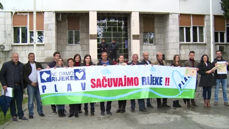 Građani Crne Gore nastavljaju borbu protiv malih hidroelektrana