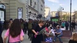 Задержания на Дмитровке