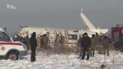 Наслідки авіакатастрофи у Казахстані – відео
