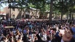 Proslava na ulicama Jermenije