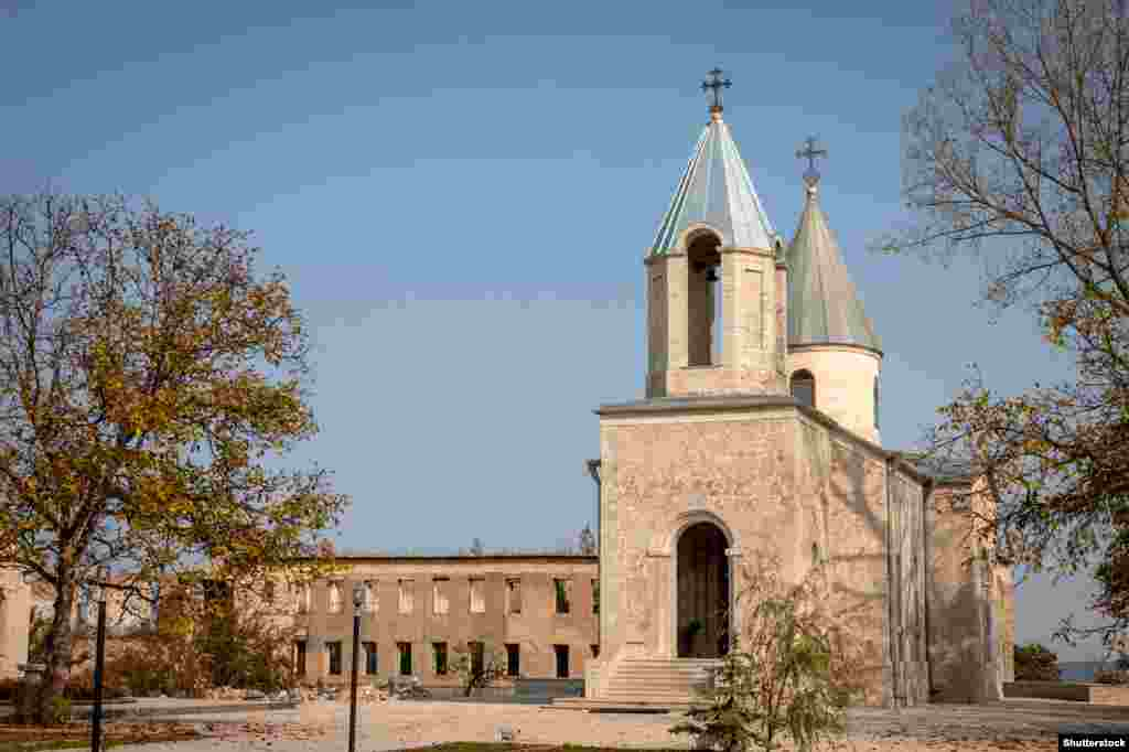 Kanach Zham, a church in Shushi/Susa, the strategically vital town recently captured by Azerbaijani forces.