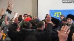«Тітушки» намагалися зірвати всекримську конференцію