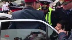 Шымкентцев задержали на глазах у репортера Азаттыка