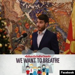 "Горјан Јовановски, креатор на апликација ""Мој воздух"""