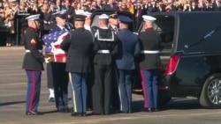 Останній політ Джорджа Буша до Вашингтона – відео