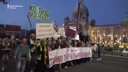 Protest penzionera u Beogradu: Vratite nam naše penzije