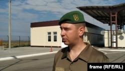 Іван Шевцов, руководитель пресс-службы Херсонского пограничного отряда Госпогранслужбы Украины
