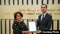 Фото с сайта Минюста Узбекистана.