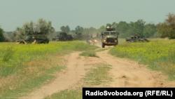 Військовослужбовці України, США, Грузії та Молдови здійснюють спільний рейд у тил умовного противника під час навчань Sea Breeze, 2 липня 2021 року