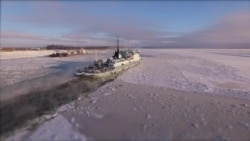 «Выморозчики» на реке Лене
