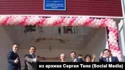 Торжественное открытие школы в Иркутской области