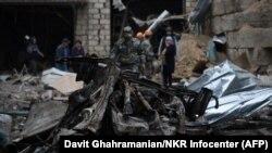 A noua zi de lupte între Armenia și Azerbaidjan pentru disputata regiune Nagorno-Karabah