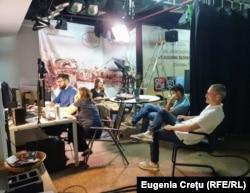 Alegeri anticipate 2021 în redacția Europei Libere, se montează reportaje video Chișinău 11 iulie 2021