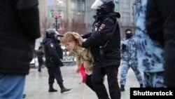 Задержания на митингах