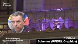 На терасі «Схеми» помітили чоловіка, схожого на першого помічника президента Сергія Шефіра