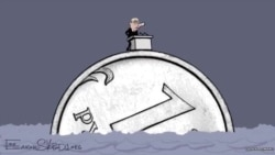 Cartoon Of Putin's State-Of-The-Nation Speech