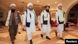 Previous talks with the Taliban have taken place in Doha. (file photo)
