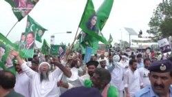 Ex-PM Sharif Departs Islamabad With Rousing Sendoff
