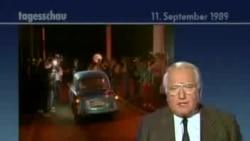 Deschiderea frontierei dintre Austria și Ungaria văzută de televiziunea vest germană în 1989