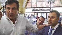 """Саакашвили на """"Привозе"""""""