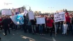 """Rasti """"Kumanova"""": Protesta në Shkup"""