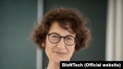 Ozlem Tureci, bashkëthemeluese dhe zyrtare kryesore mjekësore e BioNTech.