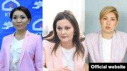 Элвира Сурабалдиева, Наталья Никитенко, Ширин Айтматова.