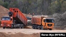 Окрестности реки Бельбек: строительство водозабора для Севастополя (фотогалерея)