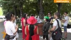 В защиту центра Алматы