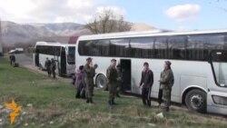 Ukrain flotnıñ yalı ordunıñ arbiy adamları Qırımnı qaldırıdılar