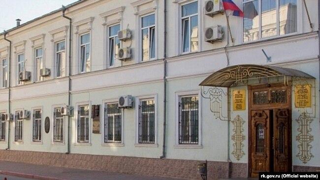 Здание российской администрации Феодосии