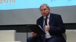 В Киеве с лекцией о Крыме выступил Мирослав Маринович (видео)