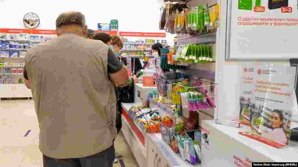 Дефицита защитных масок в севастопольских аптеках пока не наблюдается