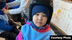 Семилетняя Адия Ибрагимова в состоянии ремиссии.
