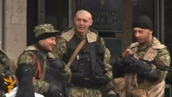 Armed Separatists Hold Grip On Government Building In Slovyansk As Kyiv Deadline Passes