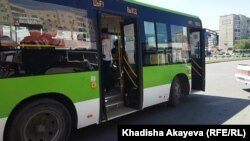 Semey Bus паркінің жүргізушілері тағы жұмысқа шықпады. Семей, 22 маусым 2021 жыл.