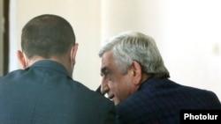 Սերժ Սարգսյանը դատարանի դահլիճում