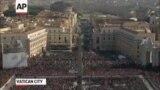 Рим папасы XVI Бенедиктің соңғы уағызы