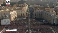 Pope Benedict XVI In Final Public Audience