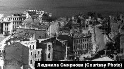 Севастополь после бомбардировок люфтваффе. Лето 1942 года