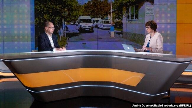 Максим Степанов у «Суботньому інтерв'ю»