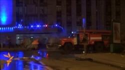 У Донецьку біля ОДА вибухнув мікроавтобус