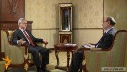 Эксклюзивное интервью президента Армении Радио Азатутюн