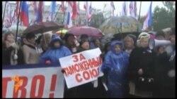 У Криму мітингували супротивники Євромайдану