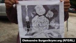 Рисунок как способ поблагодарить. Что рисуют крымские политзаключенные в неволе (фотогалерея)