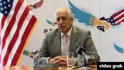 زلمی خلیلزاد، نماینده ویژه ایالات متحدهبرای صلح افغانستان