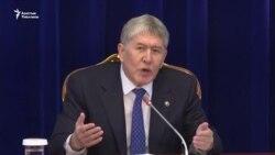 Атамбаев: Не удивлюсь, если Бабанов или Торобаев станет президентом