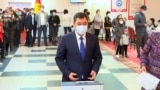 Kyrgyz President Votes In Referendum On New Constitution