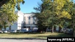 Ремонт здания Совмина в Симферополе, 23 сентября 2021 года