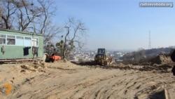 У Києві мітингують проти забудови гори Юрковиця